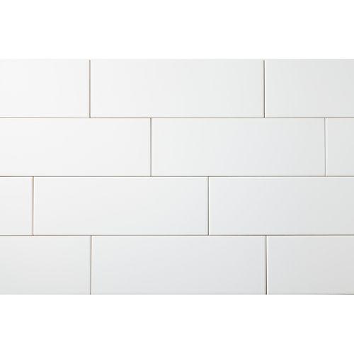 12 Snow White Glossy Subway Tile Backsplash Tile Larger And Snow