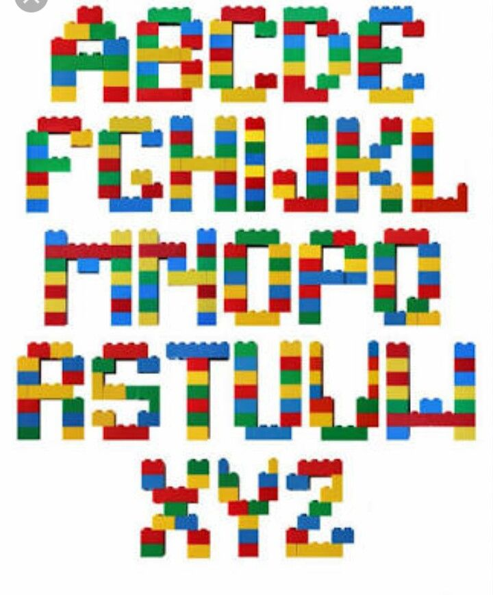 Lego Letters Font | www.imgkid.com - The Image Kid Has It!