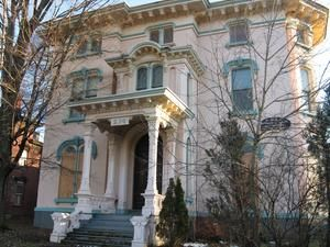 Historic Mansion On Rutger St Utica Ny Utica Historic Homes American Mansions Street House