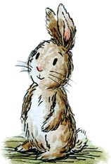This is Hallelujah Bunny from the Bunny Side of Easter, an ordinary little bunny whose heroism helps him to become the Easter bunny and the rabbit on the moon. http://bunnysideofeaster.com  #bunnysideofeaster