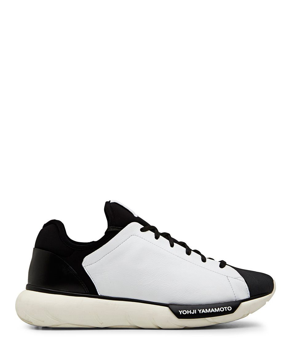 the best attitude b6ca7 e95f1 Y-3 Qasashell Shell Toe White Low Top Sneaker - Sneakerboy