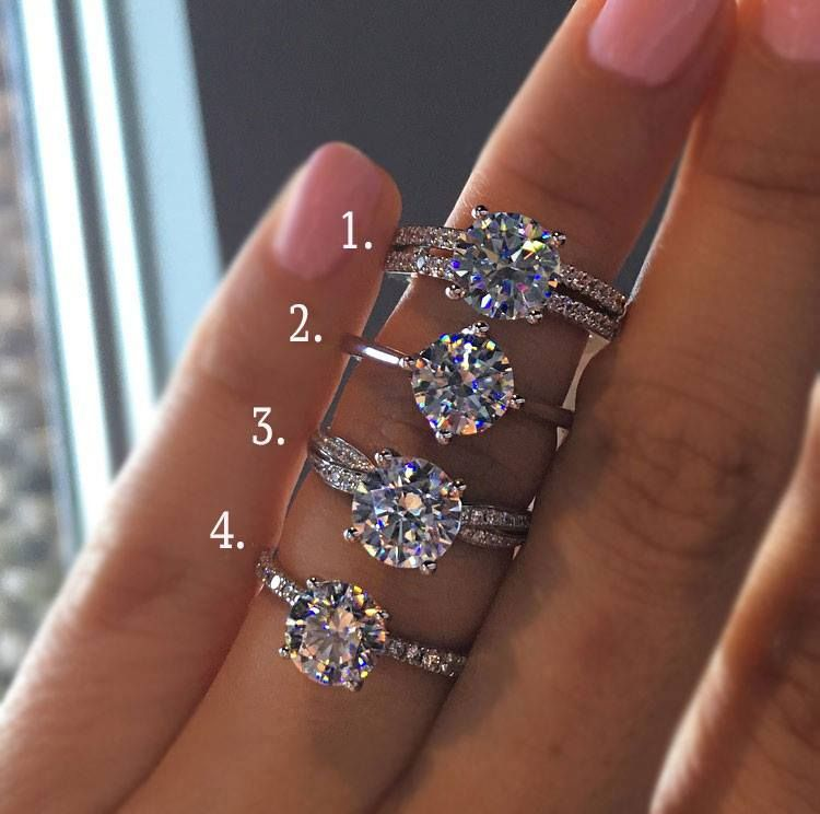 The Best Ring Designs For Round Brilliant Diamonds Top Engagement Rings Cool Wedding Rings Wedding Ring Designs