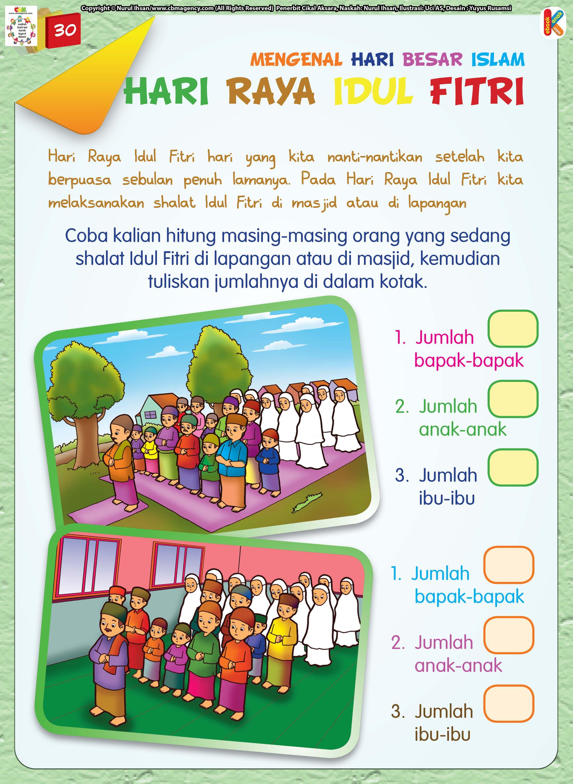 Worksheet Bahasa Indonesia Untuk Tk