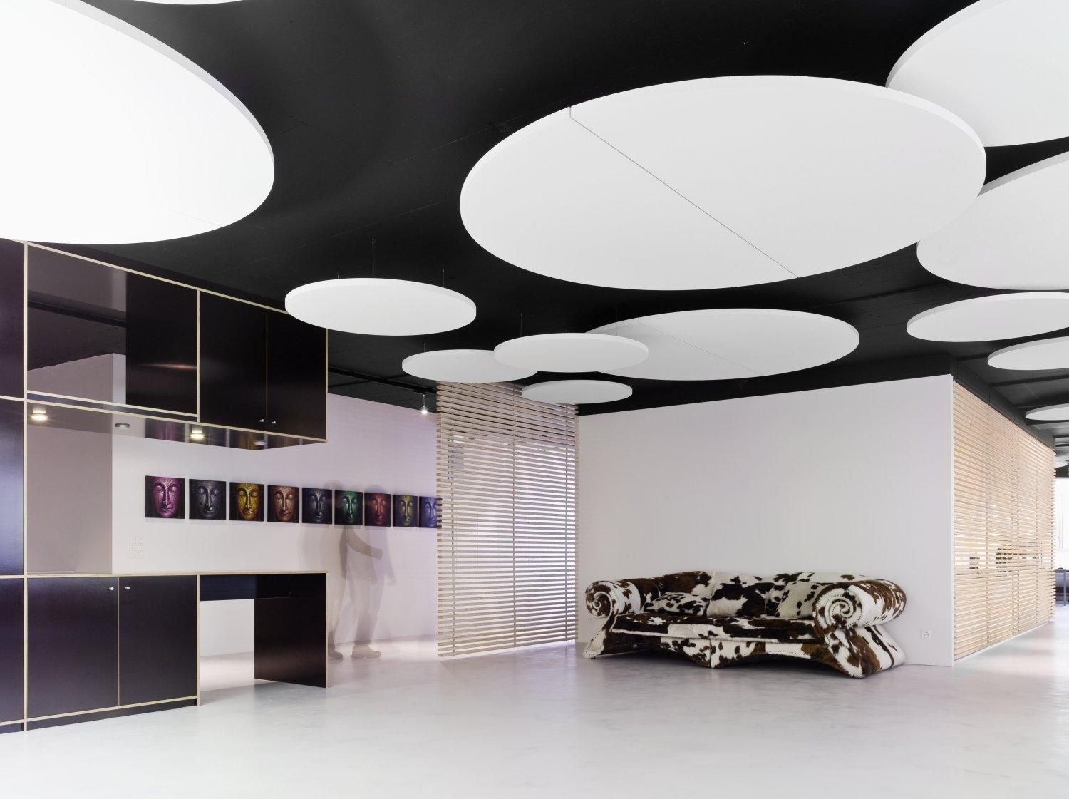 Ecophon ceilling droogbouw pinterest ceilings are these the sound absorbent clouds glass wool acoustic ceiling clouds ecophon solo circle xl ecophon solo line by saint gobain ecophon dailygadgetfo Images