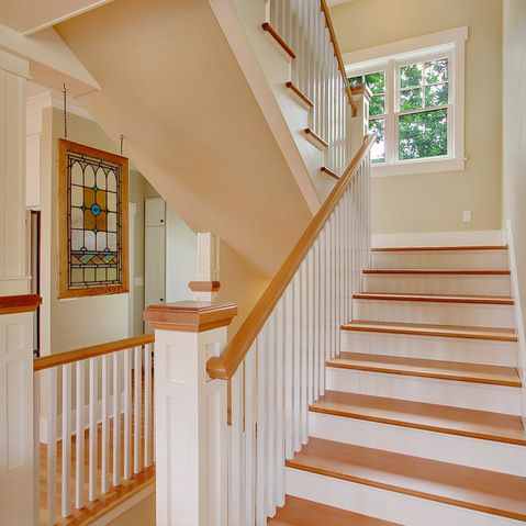 Best White Maple And Metail Railings Design Ideas Pictures 400 x 300