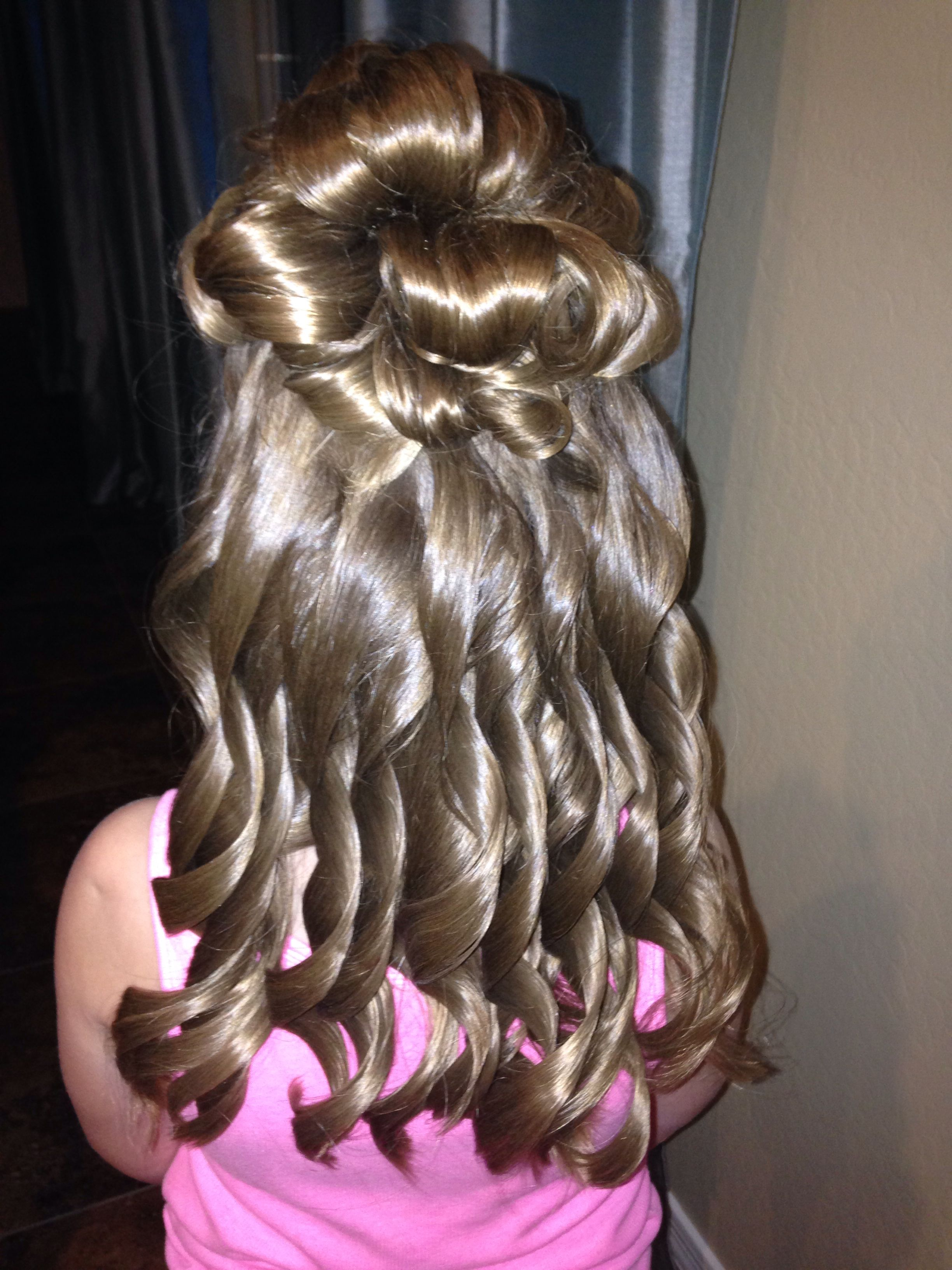hairstyles for daddy daughter dance little girl s half up half down formal hair daddy