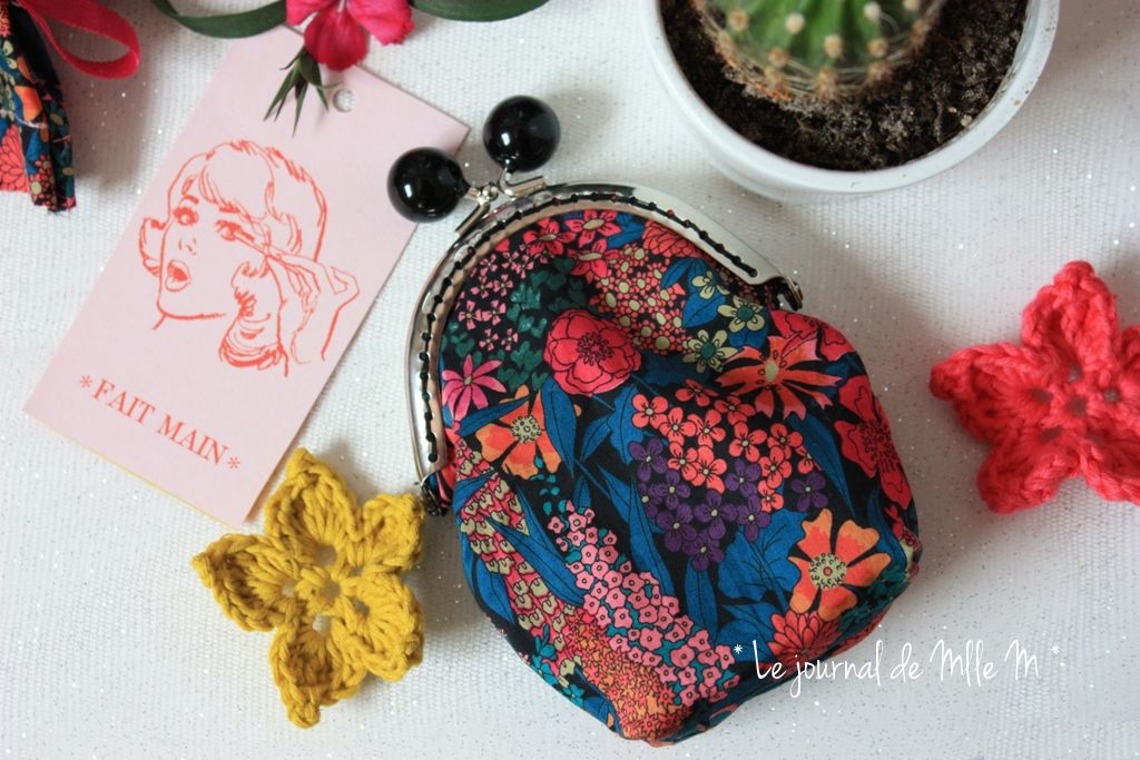 porte monnaie retro liberty couture sewing chouette kit flow magazine blog diy