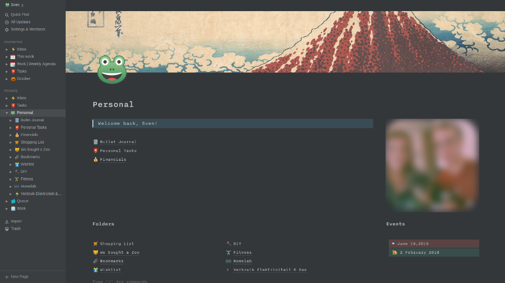 My Notion setup share yours ) NotionSo Notions