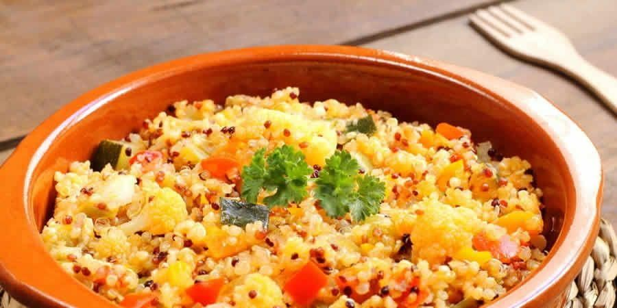 Thermomix vegetable quinoa  - Recettes Thermomix -