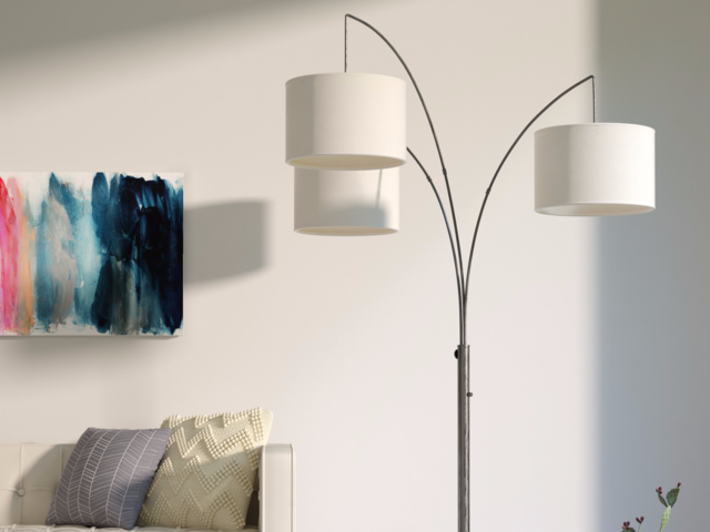 Floor Lamps Can Easily Illuminate An Entire Room Or Adjust To Light Up A Specific Area