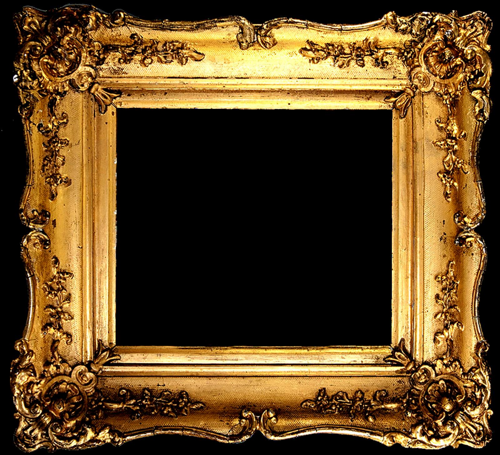 Vintage Gold Gilded Frames Free Printables Antique Picture