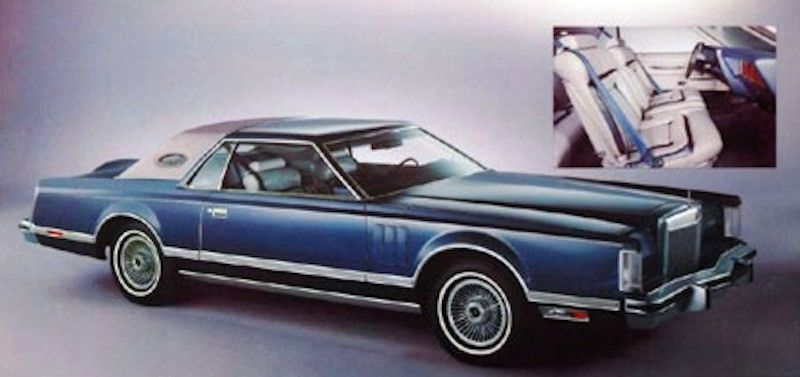 1977 Dove Grey Blue Luxury Group Lincoln Continental Mark V Finished In Dark Blue Metallic Lighter T Lincoln Continental Lincoln Cars Ford Lincoln Mercury