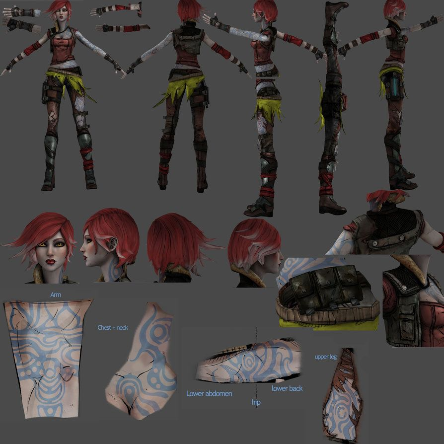 Lilith reference by ninjagal6 on deviantart games - Borderlands 3 box art wallpaper ...