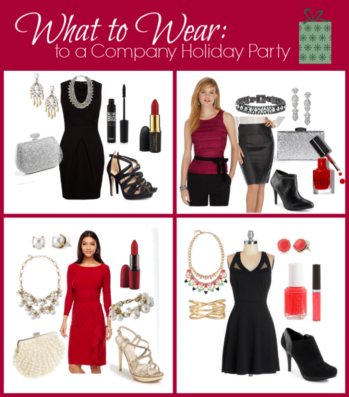 Marvelous Company Christmas Party Dress Ideas Part - 13: What To Wear To A Company Holiday Party