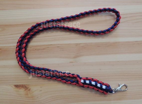 Paracord Neck Lanyard With Cobra Weave
