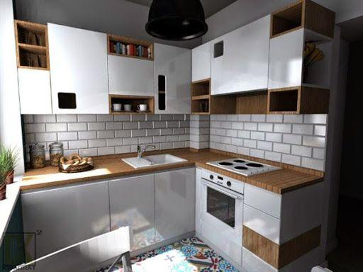 Model Kabinet Dapur Dari Kayu Minimalis Modern Terbaru 2017