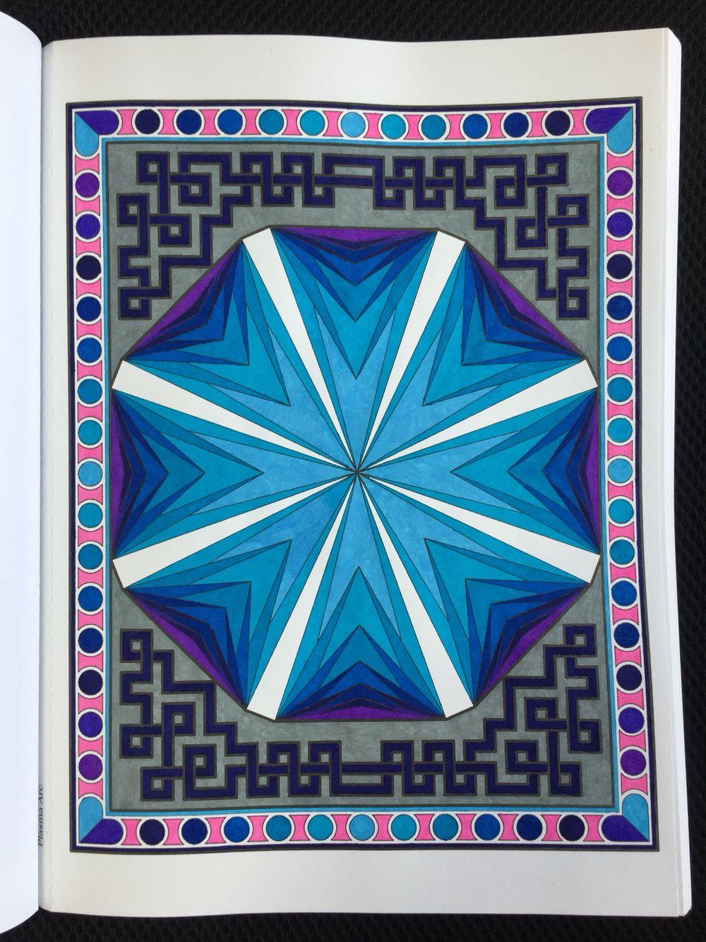 Mesmerizing Mandalas, Randall McVey. Plasma Arc. Page 11. Creative ...