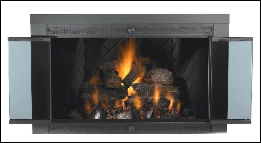 The Elegant Embers 8 Pc Lincoln Series Gas Log Set And Mr Flame