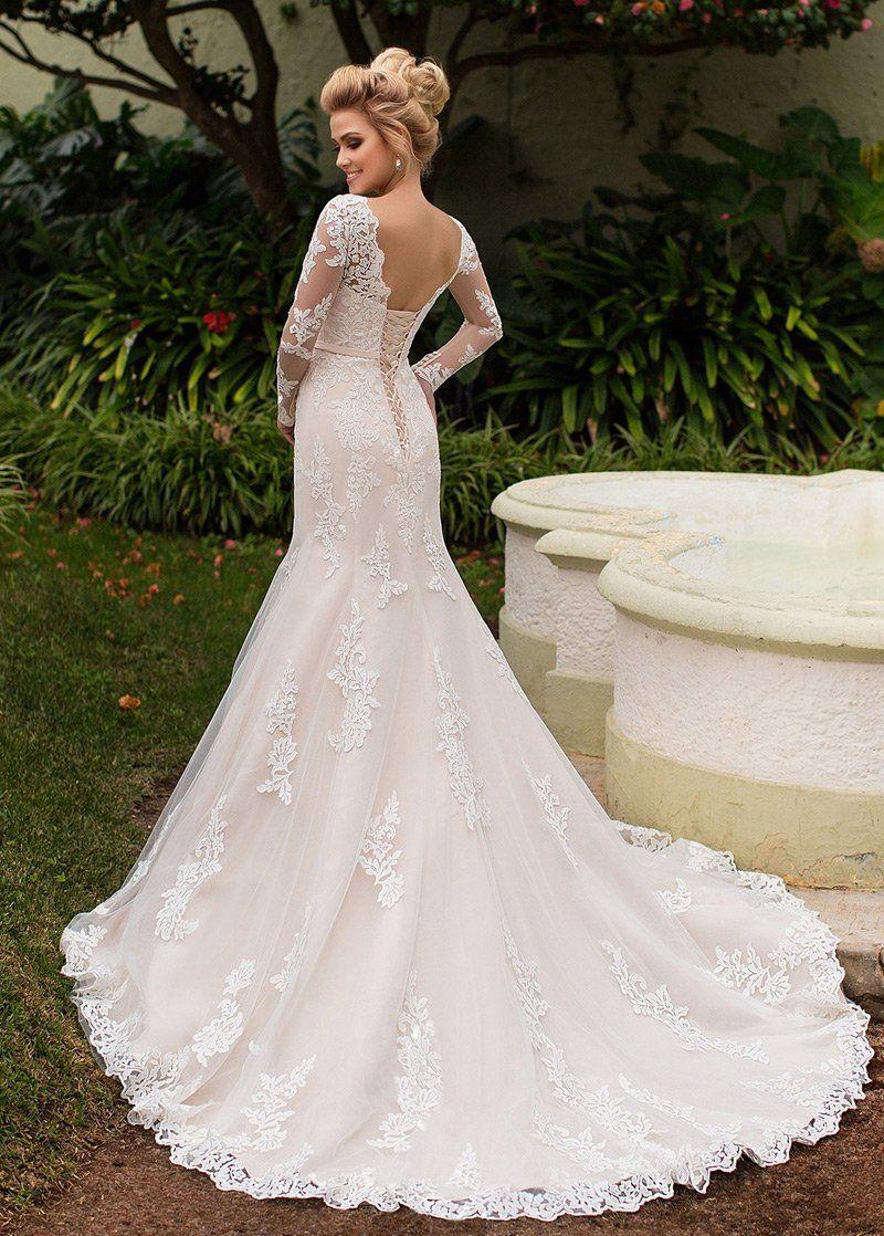 Wedding Dresses Simple, Amazing Tulle & Organza Bateau Neckline Mermaid Wedding Dress With Lace Appliques & Belt Midi Bridal Uk #grecianweddingdresses