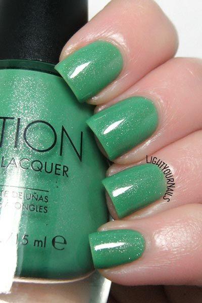 Smalto Sation Plenty of Frogs nail polish #greenery