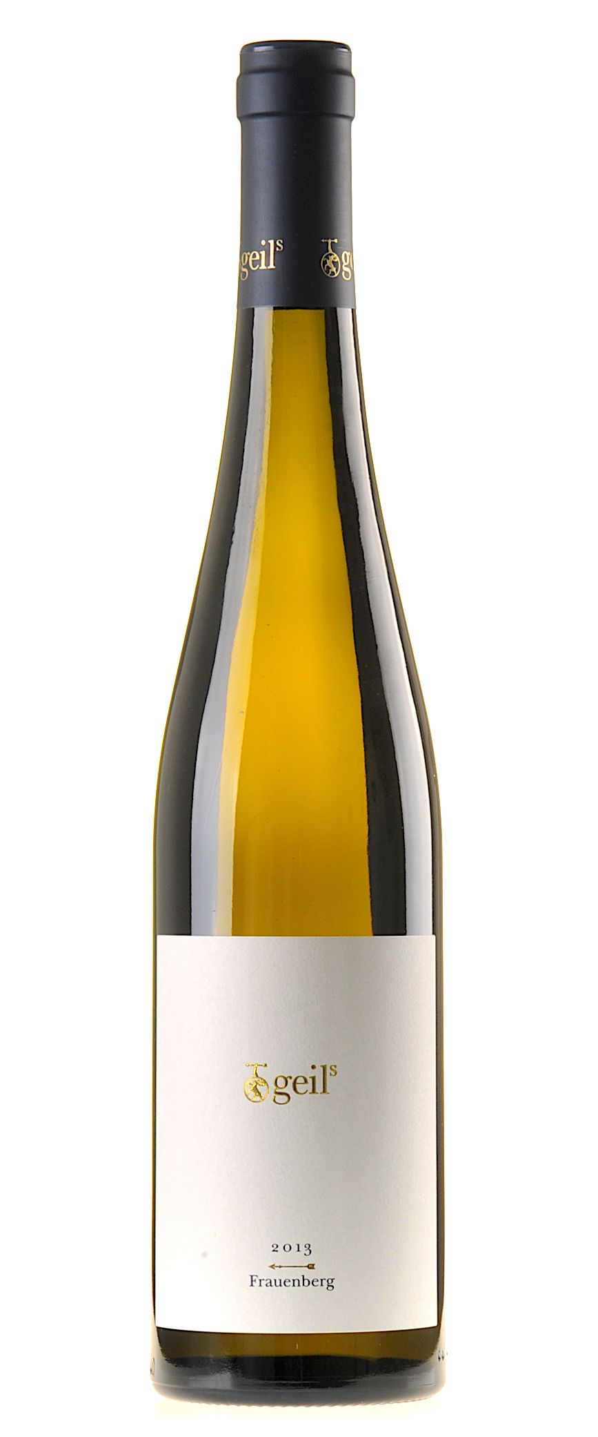 Geils Frauenberg Riesling 2013 Etiquetas De Vino Vino Blanco Y