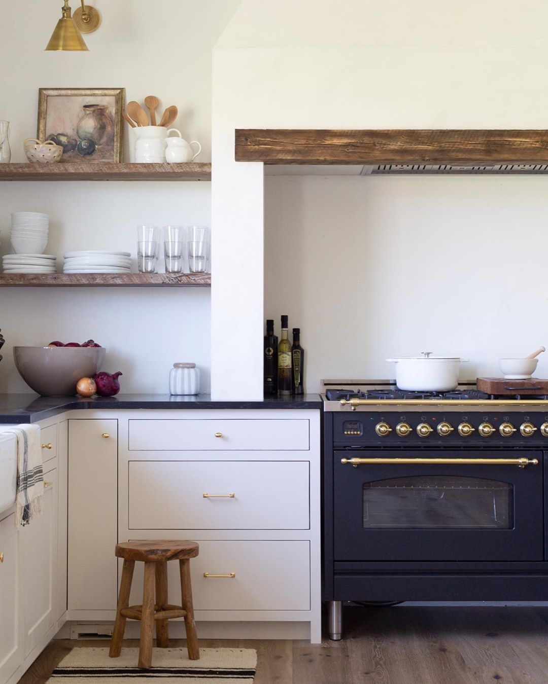 When You Are Bombarded With Pretty Interiors On Social Media I Feel Like It S Hard Not To Love Everything White Kitchen Appliances Kitchen Style Home Kitchens