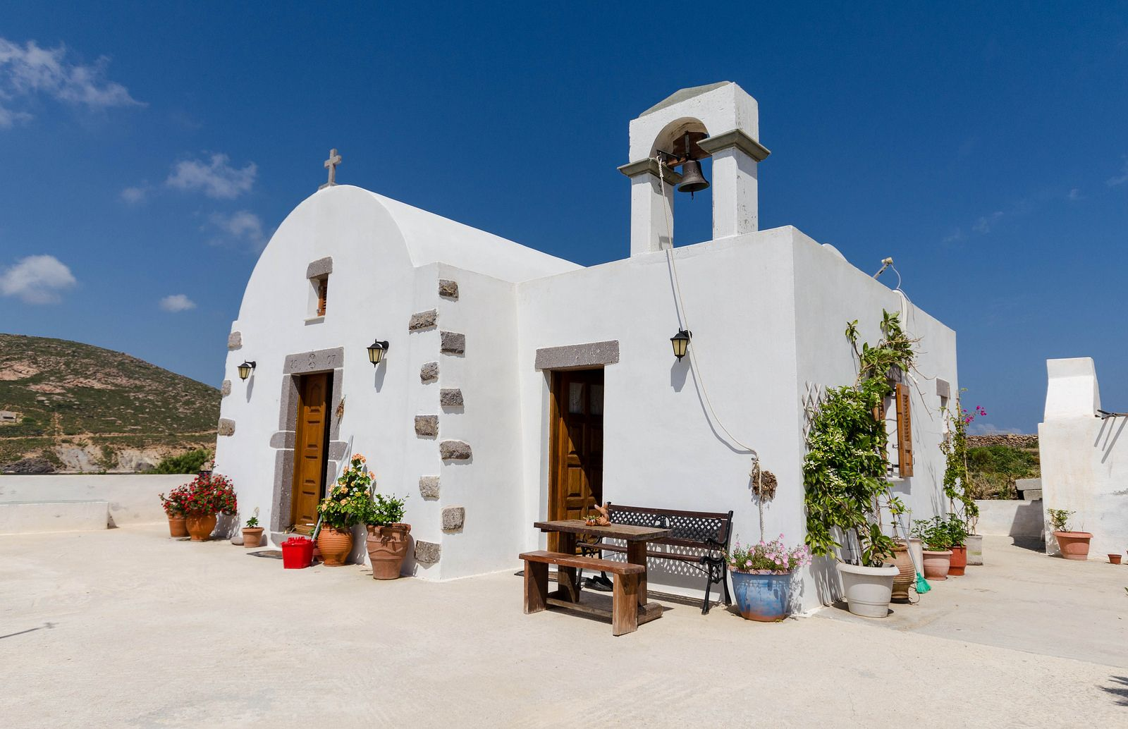 Little church in Patmos, Greece | by RomanK.