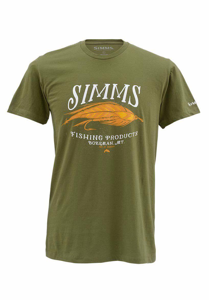 bb6c5a4b Simms Legacy Streamer SS T-Shirt | Products | Fishing shirts ...
