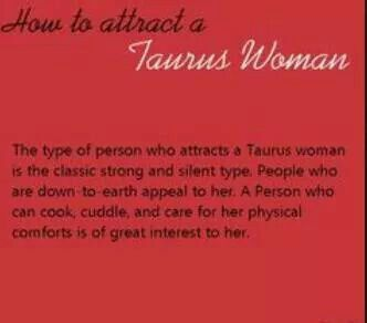 What it like dating a taurus woman