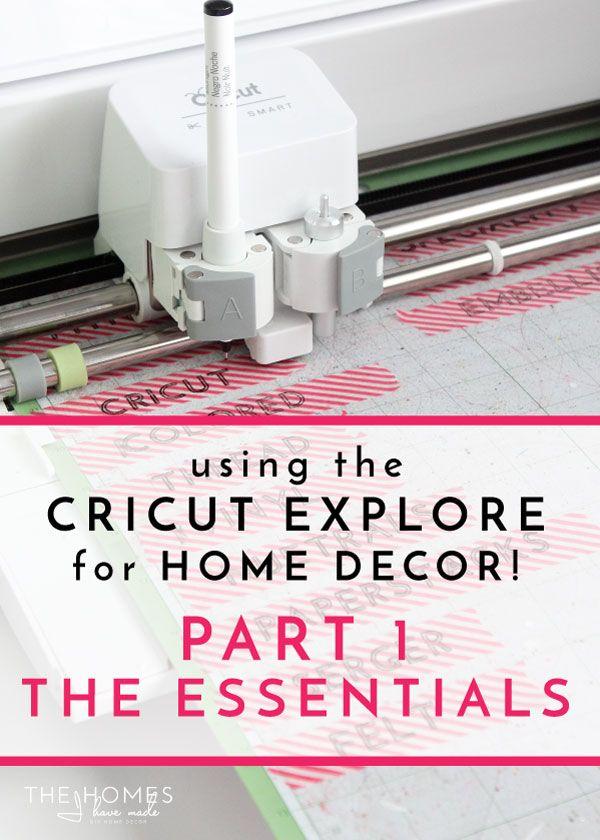 Cricut Explore For Home Decor Cricut Cricut Explore