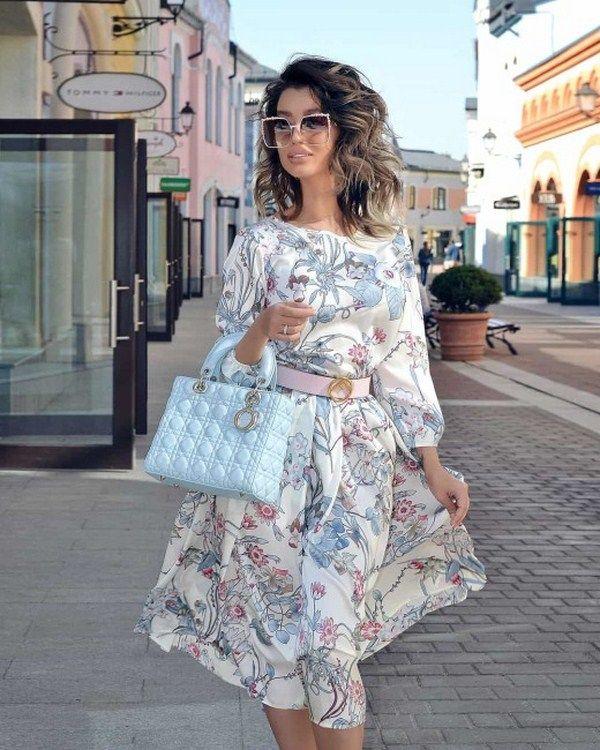платья женские лето 2021 повседневные