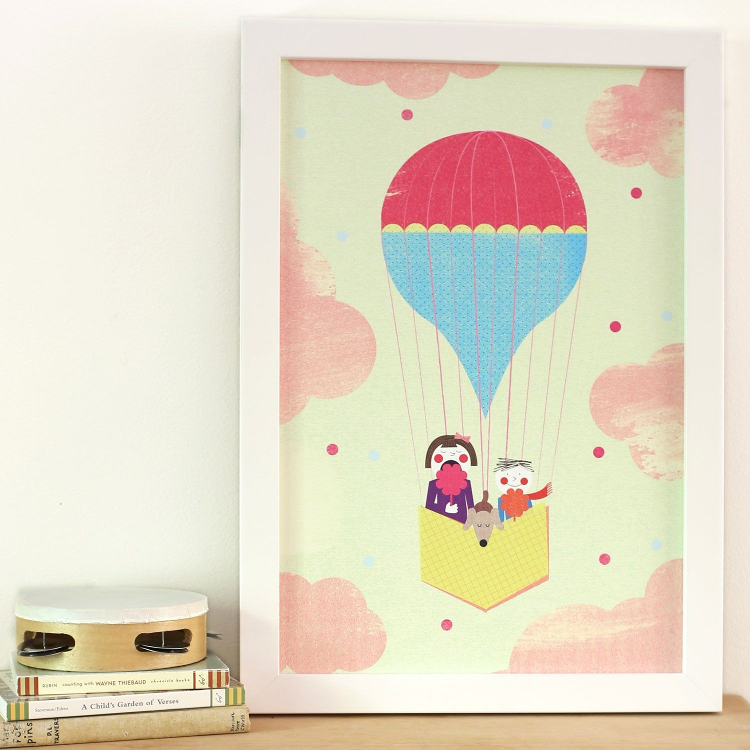Cotton Candy In The Clouds Framed Wall Art #Laylagrayce