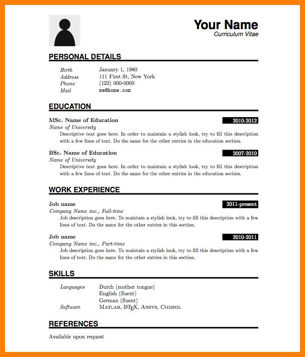 Fresh Graduate Cv Samples In Nigeria Cv Fresh Graduate In Nigeria Samples Resume Pdf Basic Resume Resume Format Download