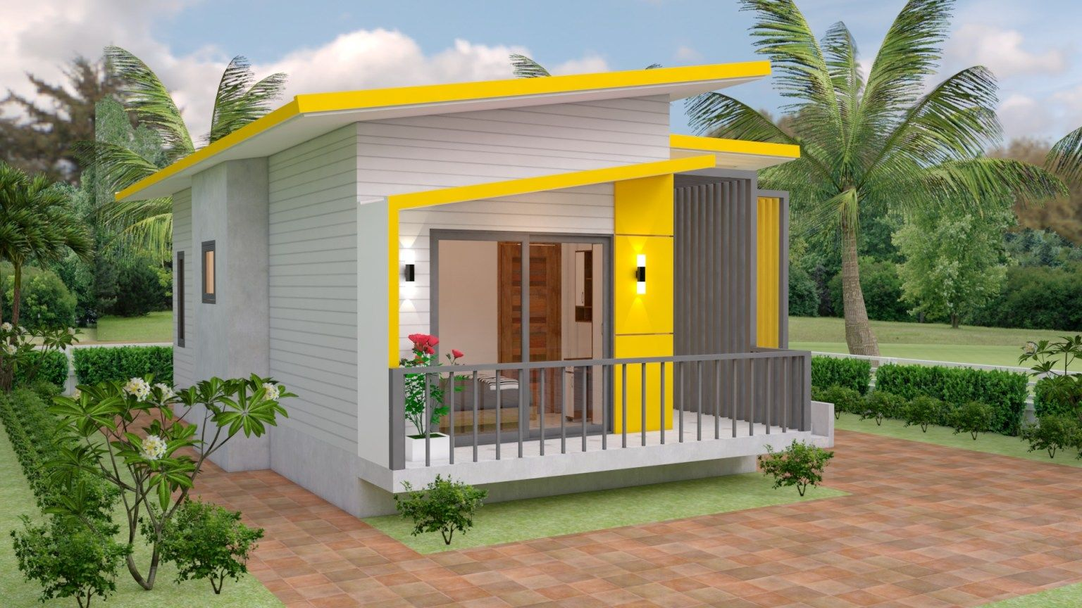 Photo of Small Modern House Design 7.5×11 Meter 25×36 Feet – Pro Home DecorZ