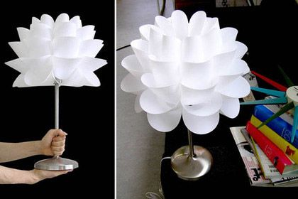 "Floor lamp LOTUS by ""Do it yourself "" sur http://www.thetrendygirl.net"