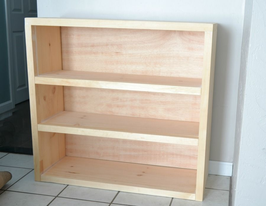 I Am Showing You How To Build A Bookcase With Plans You Can