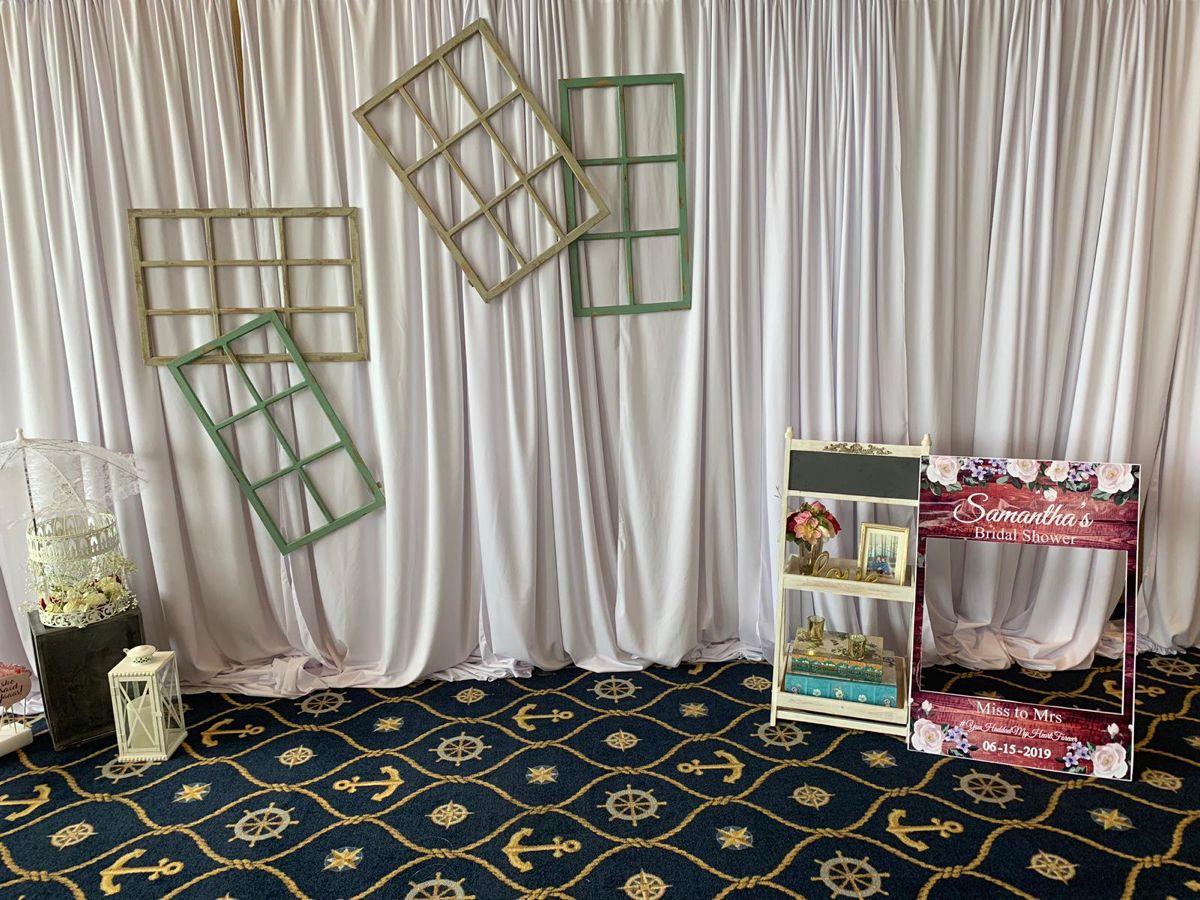 Photo backdrop ideas bridal shower in 2020 tea party