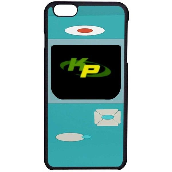 Kimmunicator Kim Possible Case Color Black Rubber Device iPhone 6/6s (£3.44) ❤ liked on Polyvore featuring accessories and tech accessories