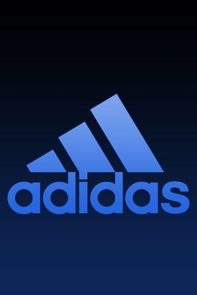 Adidas   Adidas logo wallpapers, Blue wallpaper iphone ...