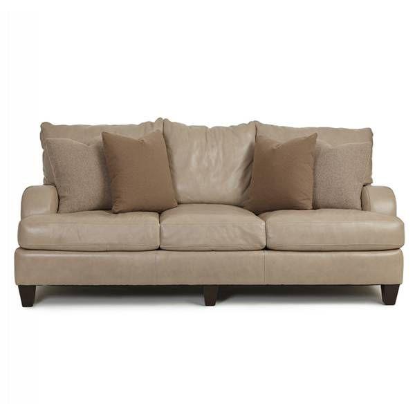 Broyhill Sofa Brooke Taupe Sofa Bernhardt Star Furniture Houston TX Furniture San Antonio