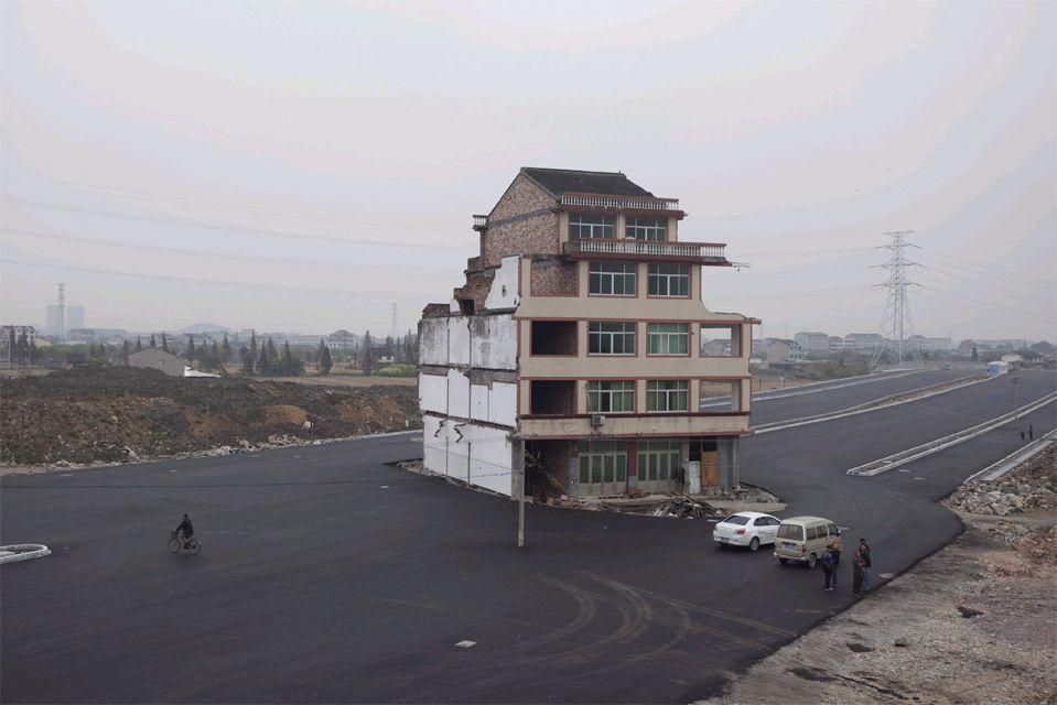 """Chinas jüngstes """"Nagelhaus"""" [Seite 2] - Bauen & Wohnen - derStandard.at › Immobilien"""