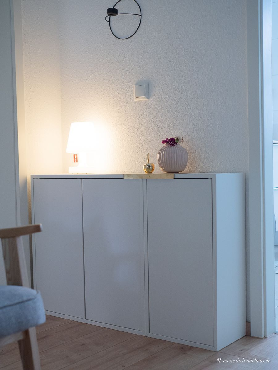 Dekosamstag: Stauraum vs. Luftigkeit im Flur mit IKEA Eket