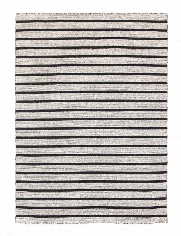 Ikea Rug Gray And Black Stripes