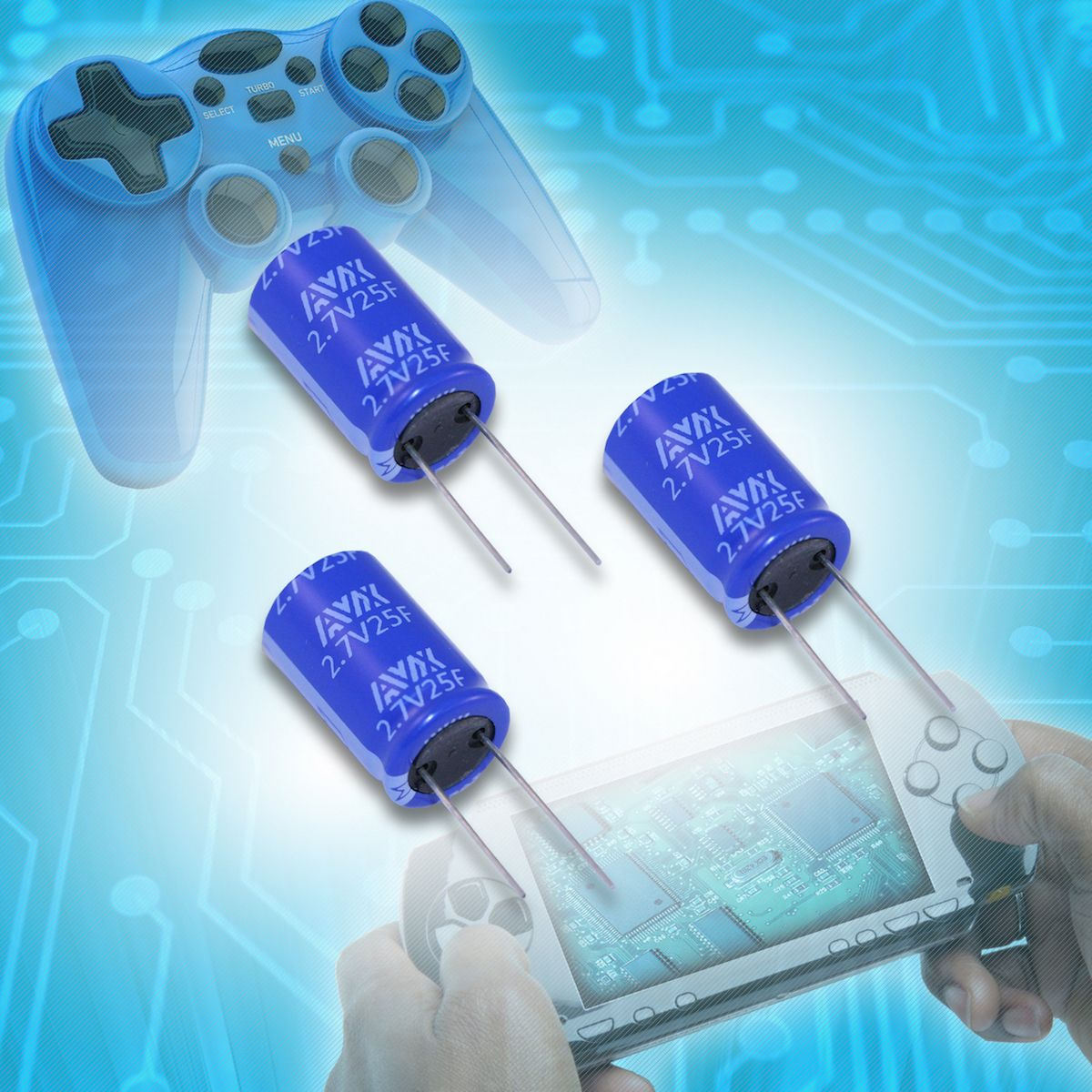 AVX Releases New Cylindrical Supercapacitor Series With