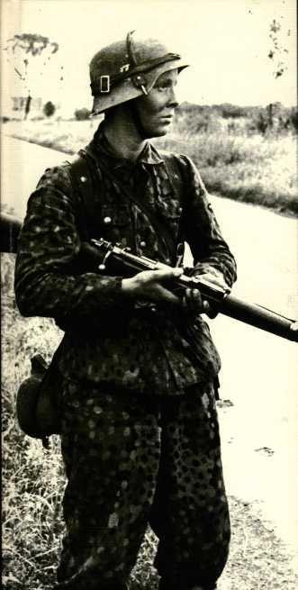 Waffen SS grenadier.