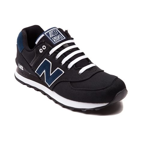 new balance 574 navy white