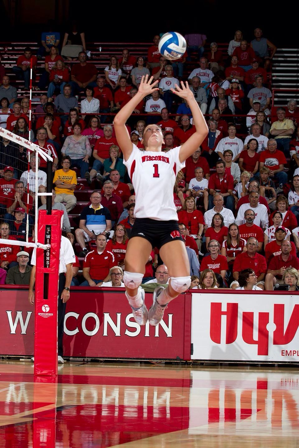 Lauren Carlini Setter Female Volleyball Players Volleyball Skills Badger Volleyball