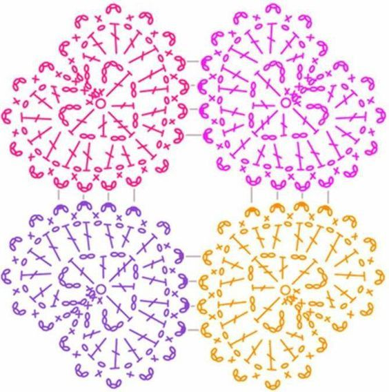 Solo esquemas y diseños de crochet   coeazones   Pinterest ...