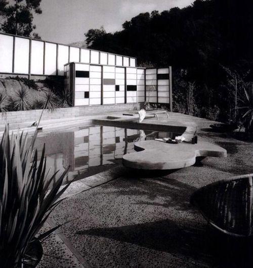 Modernist Landscape Architect Garrett Eckbo Design 1953 Mid Century Landscaping Garden Architecture Modern Outdoor Spaces