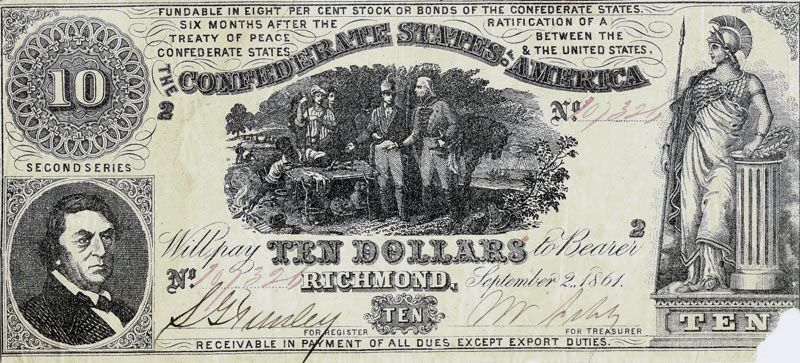 Confederate Currency Confederate Currency Money Notes